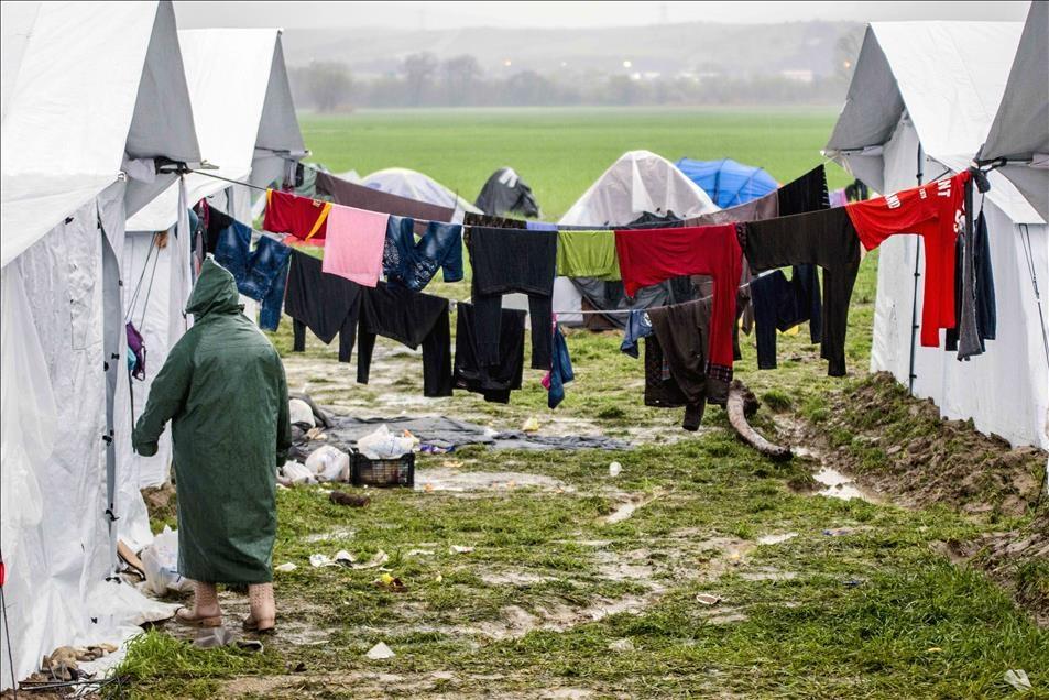 Sığınmacıların umudu Balkanlarda son buldu galerisi resim 6