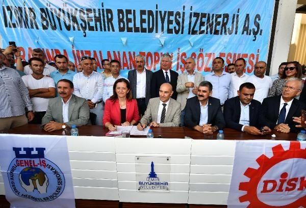 İzmir'de belediye çalışanı memurlara yüzde 72 zam galerisi resim 1