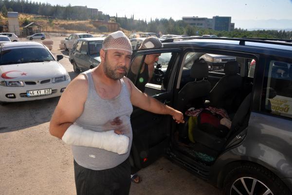 Gurbetçi aileye saldırı: 3'ü çocuk, 12 yaralı galerisi resim 1