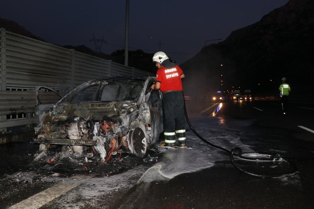Gurbetçi ailenin otomobili kül oldu galerisi resim 4