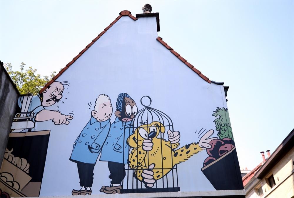 Brüksel sokakları çizgi roman oldu galerisi resim 1