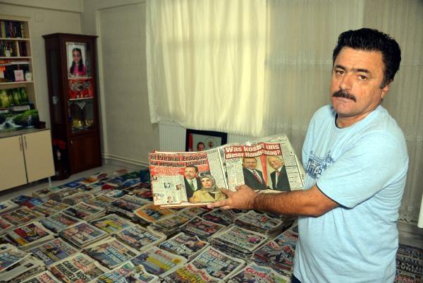 17 yıldır'Erdoğan haberlerini' topluyor galerisi resim 5