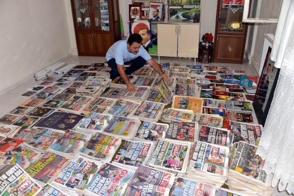 17 yıldır'Erdoğan haberlerini' topluyor galerisi resim 8