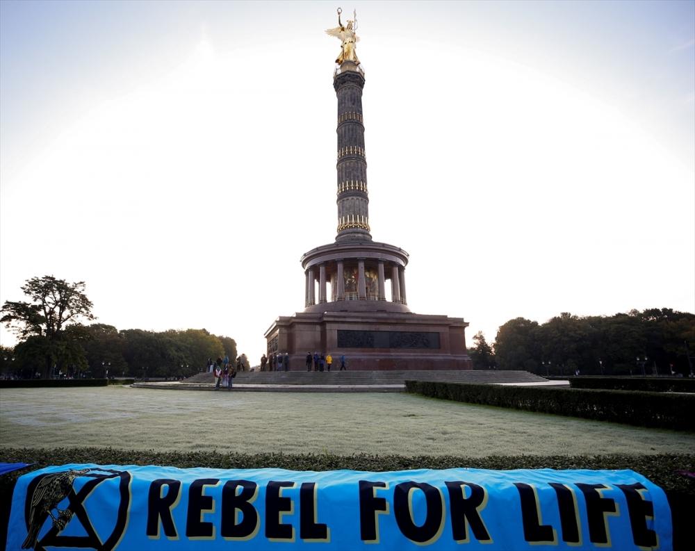 Çevreciler, Alman hükümetini protesto etti galerisi resim 2