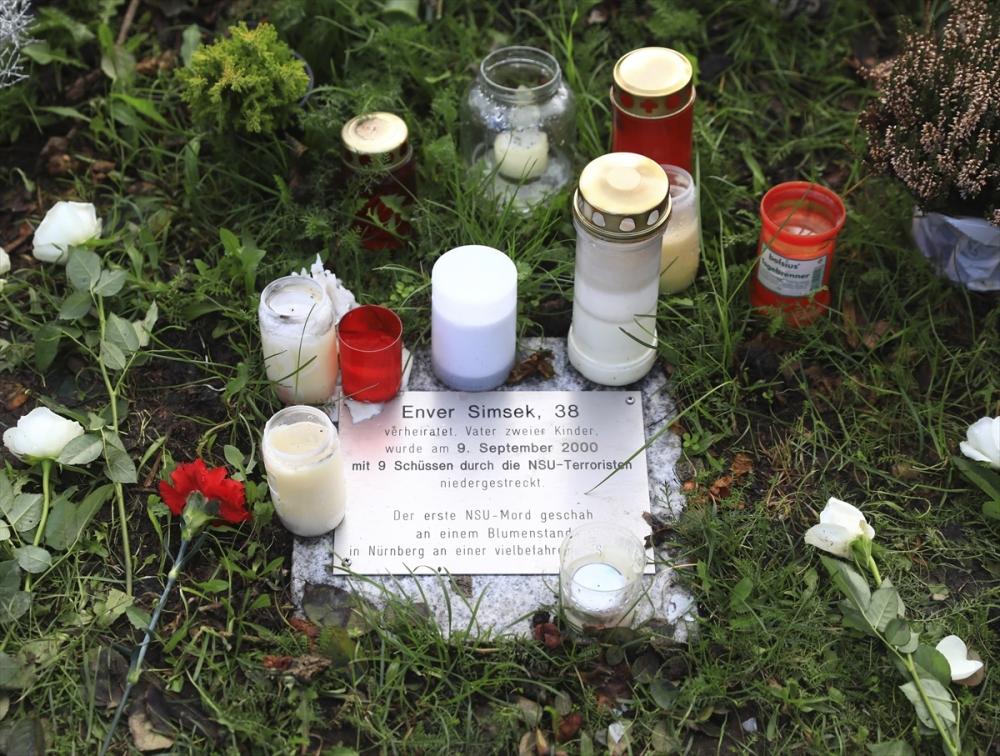 Merkel'den NSU kurbanları anıt parkına ziyaret galerisi resim 1