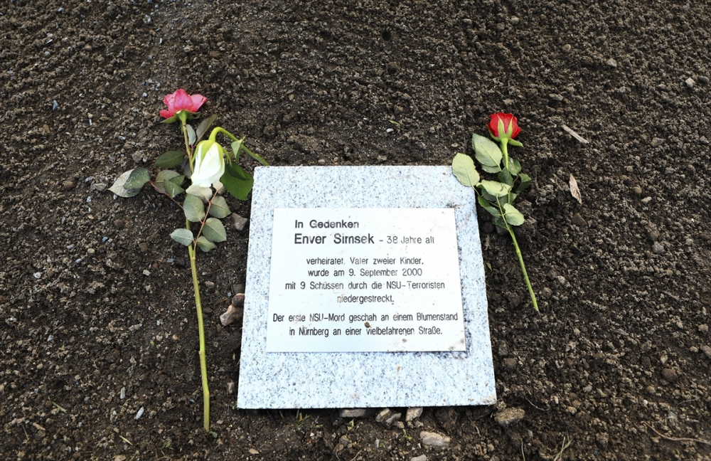 Merkel'den NSU kurbanları anıt parkına ziyaret galerisi resim 10
