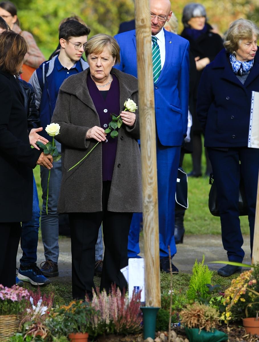 Merkel'den NSU kurbanları anıt parkına ziyaret galerisi resim 11