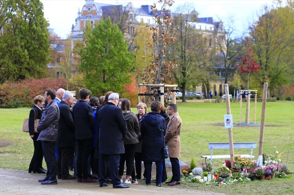 Merkel'den NSU kurbanları anıt parkına ziyaret galerisi resim 15