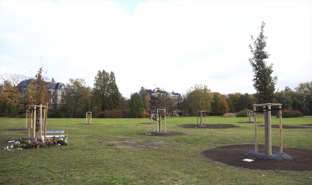 Merkel'den NSU kurbanları anıt parkına ziyaret galerisi resim 17