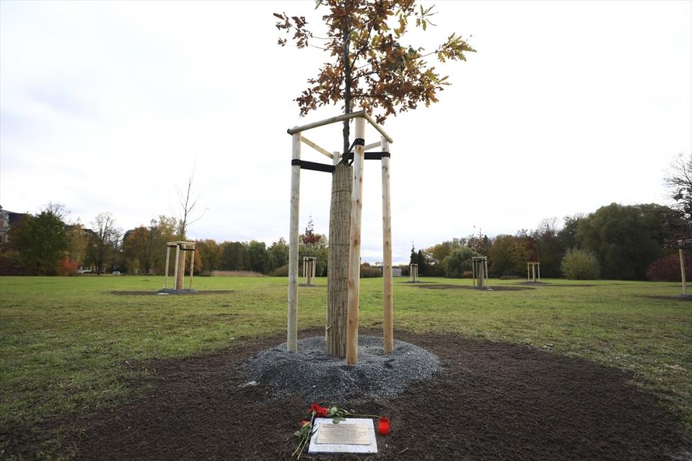 Merkel'den NSU kurbanları anıt parkına ziyaret galerisi resim 19