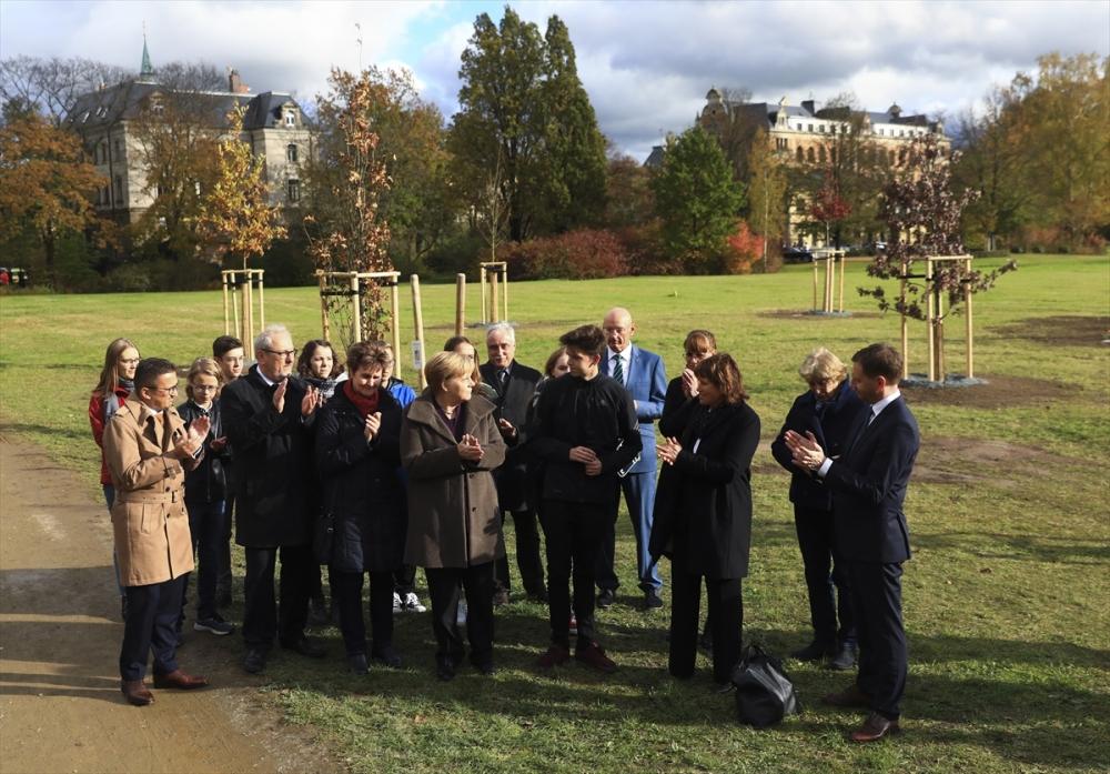 Merkel'den NSU kurbanları anıt parkına ziyaret galerisi resim 23