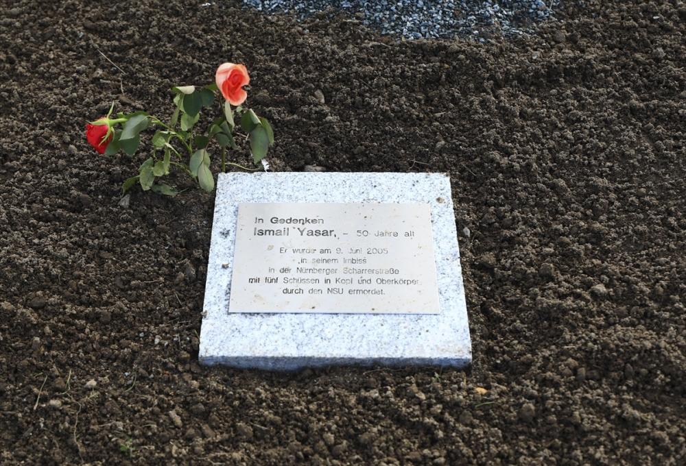 Merkel'den NSU kurbanları anıt parkına ziyaret galerisi resim 3