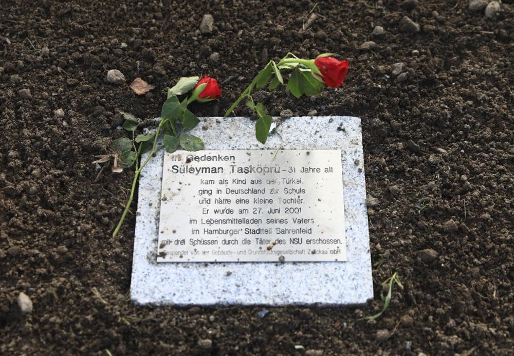 Merkel'den NSU kurbanları anıt parkına ziyaret galerisi resim 5