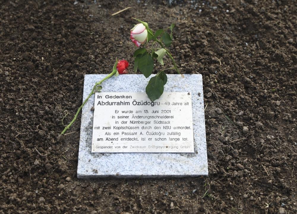 Merkel'den NSU kurbanları anıt parkına ziyaret galerisi resim 6