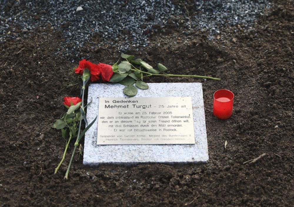 Merkel'den NSU kurbanları anıt parkına ziyaret galerisi resim 7
