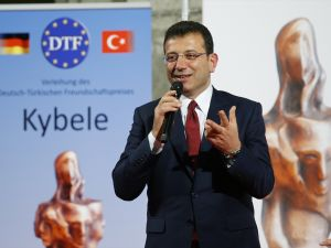 İmamoğlu'na, Almanya'da Kybele Dostluk Ödülü