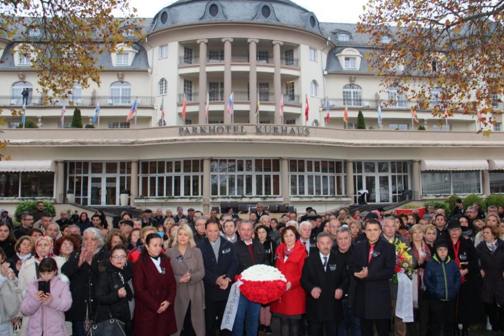 CHP BW Birliği, Atatürk'ü andı galerisi resim 1