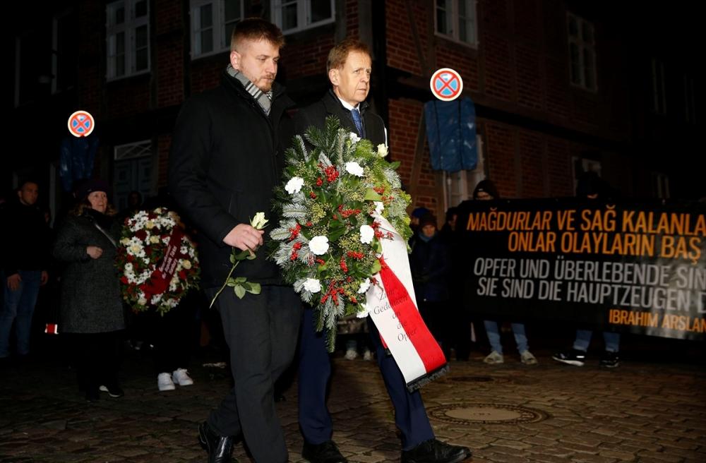 Mölln saldırısı kurbanları 27'nci yılında anılıyor galerisi resim 1