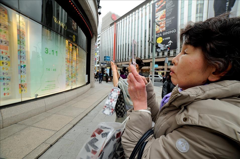Japonya, Tohoku depreminin kurbanlarını anıyor galerisi resim 2