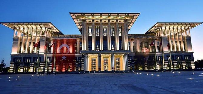 Cumhurbaşkanlığı Sarayı'nda 1804 kişi çalışıyor