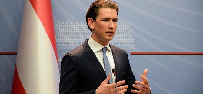 Kurz: Türkiye'ye karşı Almanya'yı destekleyeceğiz