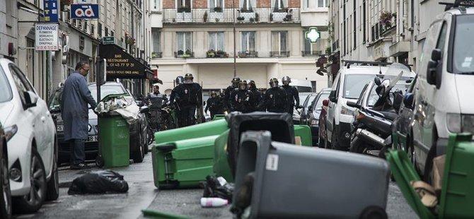 Paris'te makinistler zorla göreve getirilecek