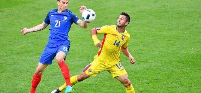 Fransa 2-1 Romanya
