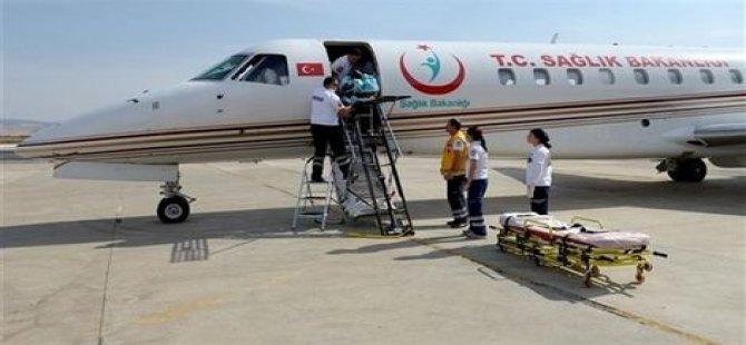 Yaralanan Türk öğrenci için ambulans uçak havalandı