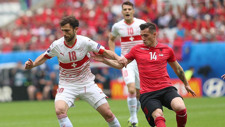 İsviçre, Arnavutluk'u tek golle yendi