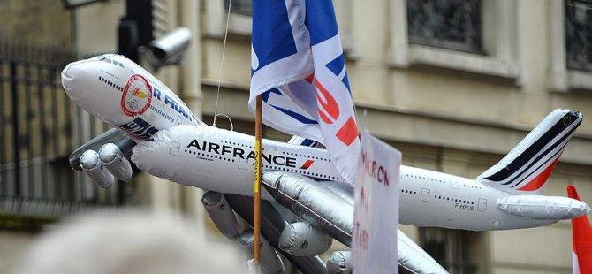 Air France'da greve devam kararı