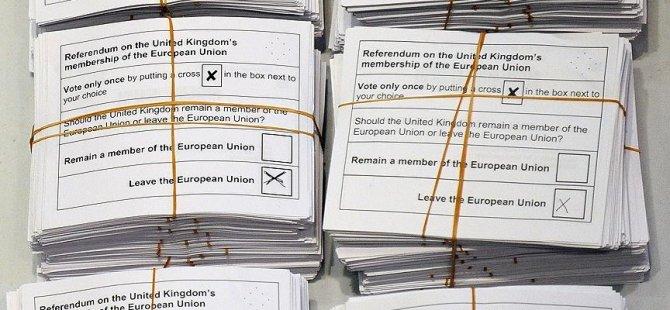 İngiliz halkı pişman: Tekrar referandum yapalım