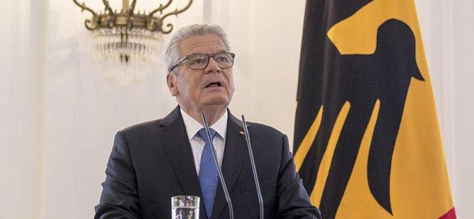 Gauck: Avrupa yanıtsız bırakmaz
