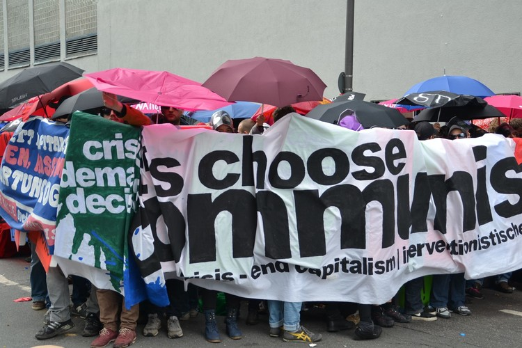 Blockupy olaylı geçti