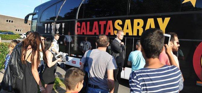 Galatasaray kafilesi Danimarka'da