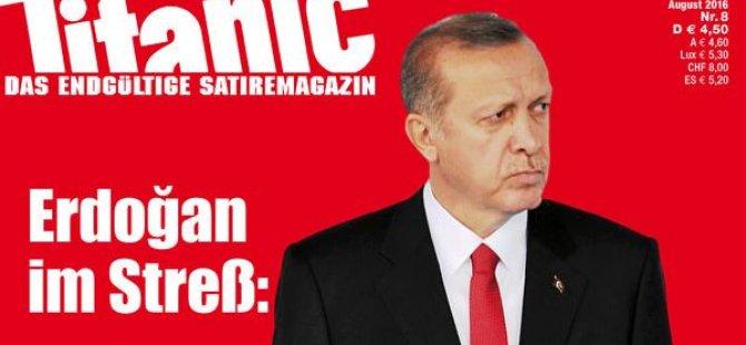 Alman dergiden Erdoğan'a hakaret
