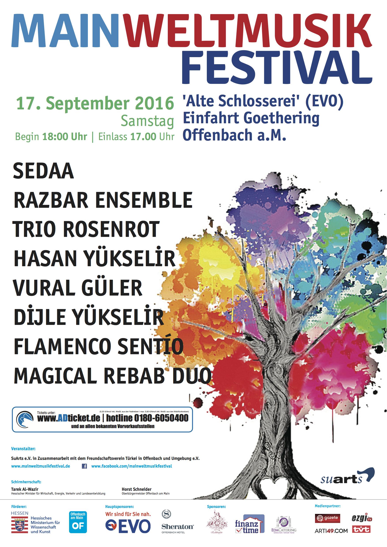 3. MainWeltmusik Festival için geri sayım başladı