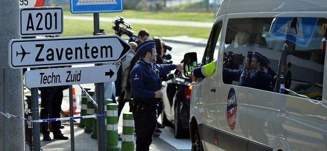 Brüksel Havalimanı'na terörle mücadele