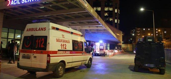 Polise ateş açıldı: 1 şehit
