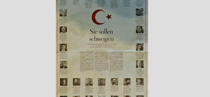 Türkiye'deki gözaltıları manşetine taşıdı