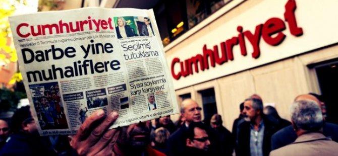 Cumhuriyet'te çalışan 9 gazeteci tutuklandı