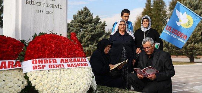 Bülent Ecevit vefatının 10'uncu yılında anıldı