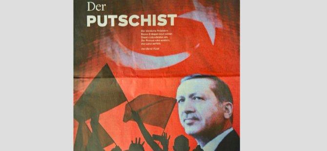 Alman gazeteden Erdoğan'a 'darbeci' benzetmesi