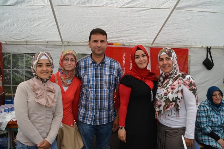 Türk kültürünü tanıttılar