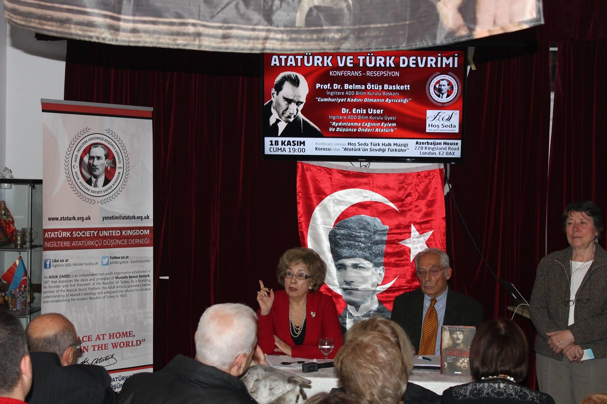 İngiltere'de Atatürk'ü anlattılar