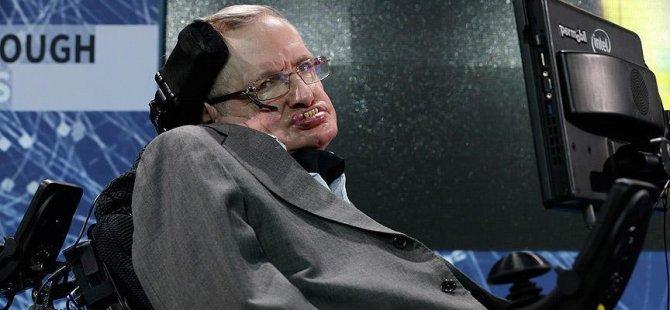 Hawking'den depresyon için tavsiye