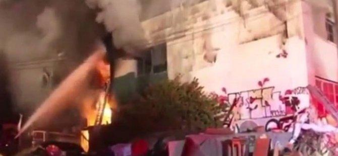 Konserde yangın faciası: 9 ölü