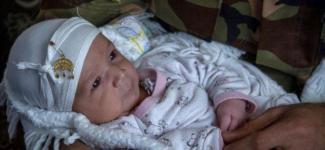 Iraklı bebeğine 'Trump' adını verdi
