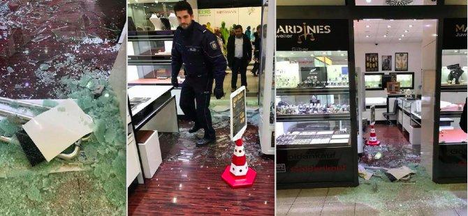 Almanya'da Türk kuyumcuyu soydular