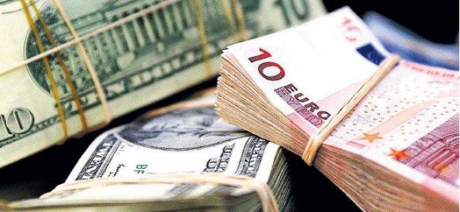 Dolar ve avroda sert düşüş