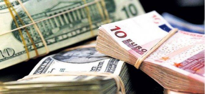 Dolar ve avroda düşüş devam ediyor